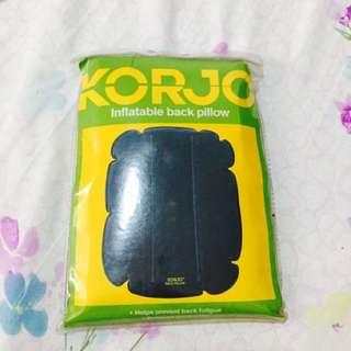 Korjo Inflatable back pillow