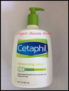 591mL Authentic Cetaphil Moisturizing Lotion