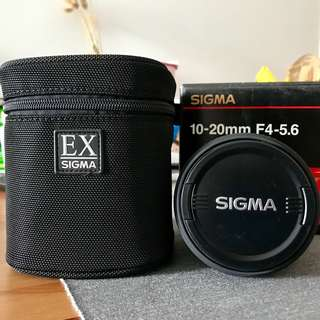 Sigma 10-20mm Nikon Mount