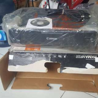 Printer Canon MP237 (Sudah Infus)