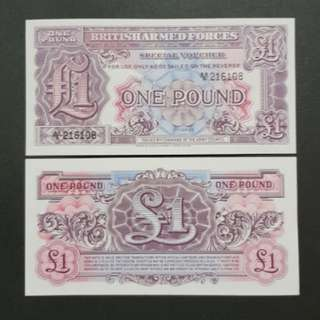 British Armed Forces 1 Pound 🇹🇨 !!!