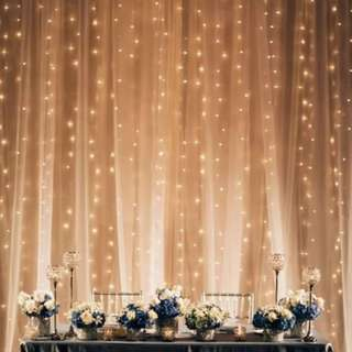 INSTOCK; Classic Curtain Fairy Lights