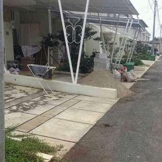 Kanopi garasi rumah mewah