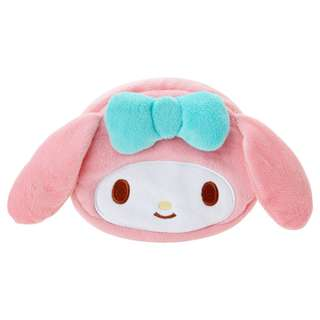 Japan Sanrio My Melody Face Pouch (Nostalgic Series)