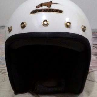 Helmet nos alpinestar 5 button