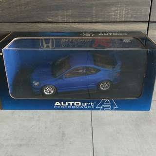 *Reserved* 1/18 Autoart Honda Integra Type R DC5 (Electric Blue) #73343