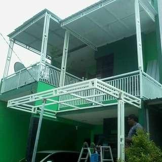 Kanopi termurah rumah minimalis