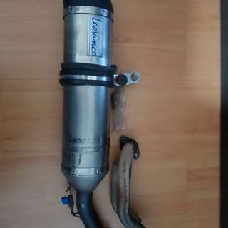 Gilera exhaust/pipe