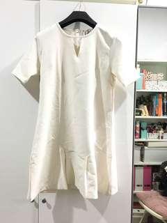 Off White Midi Dress