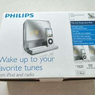 Philips docking entertainment system