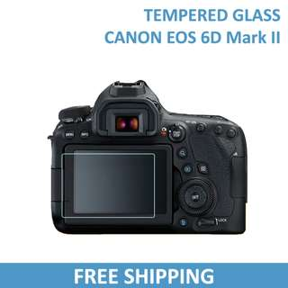 Canon 6D Mark II Tempered Glass Screen Protector