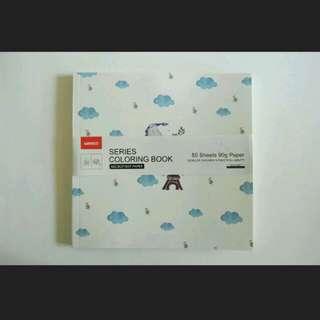 Coloring Book Miniso