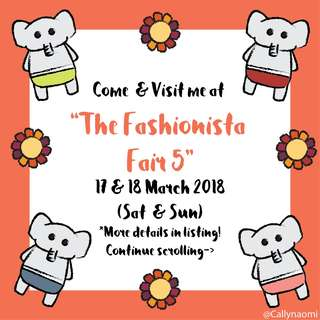 Physical Booth at The Fashionista Fair 5