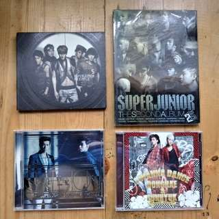 Super Junior Albums