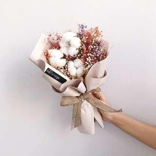 Dried Flower Bouquet | Cotton Flower | Graduation Gift
