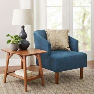 Better Homes and Gardens Reed Mid Century Accent Chair