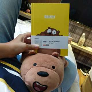 Grizzly note book