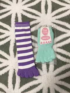 Pastel colour Socks
