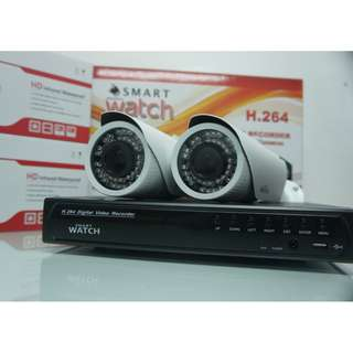 CCTV Smart Watch HD Camera Package with Digital Zoom Function