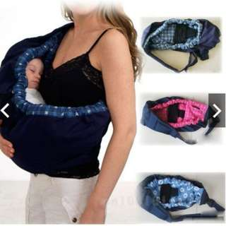 New Born Baby Sling Toddler Cradle Carrier Feeding Bed Bag
