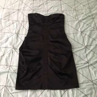 Strapless Black Dress LBT