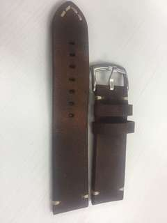 Vintage Leather Strap 22mm