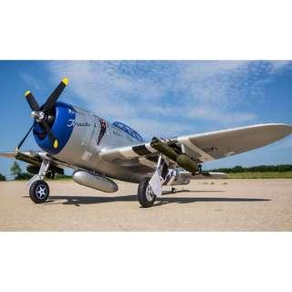E-flite P-47 Razorback 1.2m BNF Basic w AS3X - In Stock Now!!