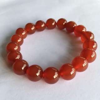 [Clearance] Red Agate Stretchable Bracelet