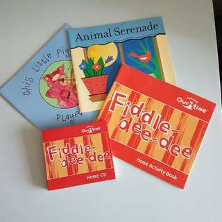Kindermusik materials (textbooks & home CD) - Fiddle dee-dee