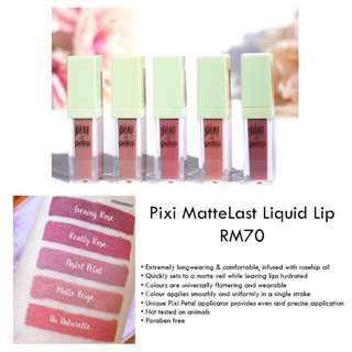 [PREORDER] Pixi MatteLast Liquid Lip