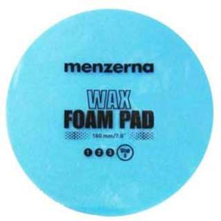 Menzerna Wax Foam Pad 180 mm Blue