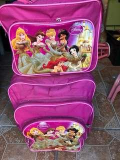Disney Princess Stroller bag with lunch bag