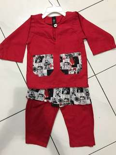 Baju Melayu Bottons (Star Wars)