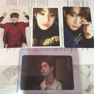 Got7 Mark Set Official Photocard set