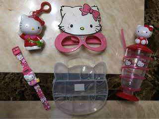 Hello Kitty collection stuff with pos