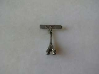 Vintage 25++ Pin Badge Paris