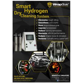SMART HYDROGEN DRY CLEANING SYSTEM *$138++