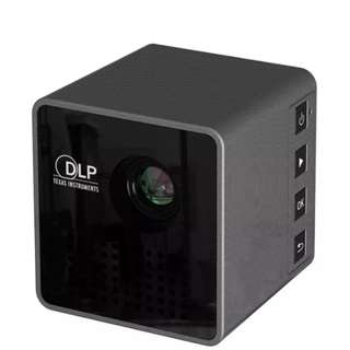 Mini 1080P miracast Full HD LED Projector DLP WL-P1 Portable Home Movie Theater - intl