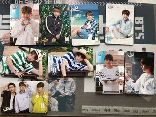 BTS YES CARDS