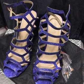 ‼️Parisian Blue Caged Heels