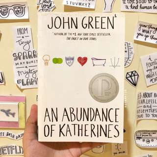 An Abundance of Katherines (Paperback) by John Green