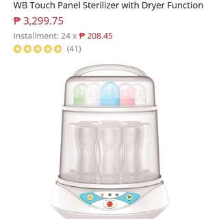 WB Touch Panel Sterilizer with Dryer function