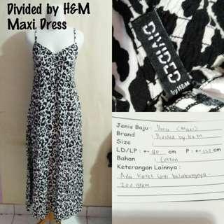 Divided by H&M Maxi Dress | Pakaian Wanita | Terusan Import