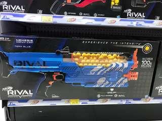 Modified NERF Rival Nemesis Blue
