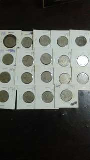 Old Coins 1971