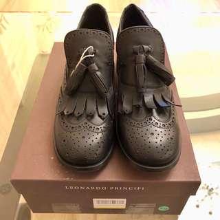 🈹🈹🈹全新意大利Leonardo Principi shoes
