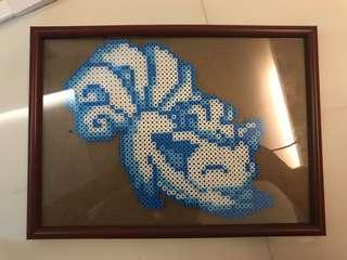 Alola Vulpix Pokemon With frame
