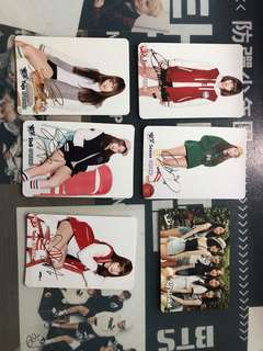 GFRIEND YES CARDS