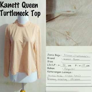 Kanett Queen Turtleneck Top | Pakaian Wanita | Atasan Import