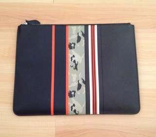 Givenchy Men's Leather Flat Pouch / Portfolio